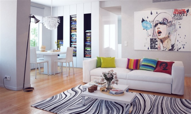 Built-in-white-bookshelves-665x399