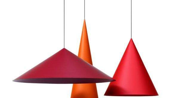 Giant conical pendant lamps 1