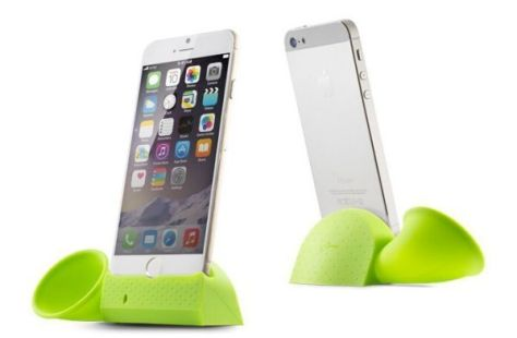 Horn Amplifier Hands-Free iPhone Stand