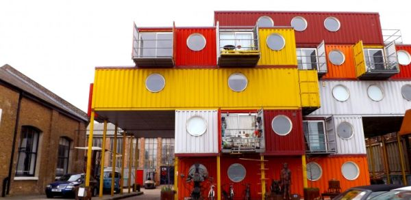 London's Container City