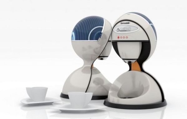 Solar Coffee Maker by  Gun Ho Lee