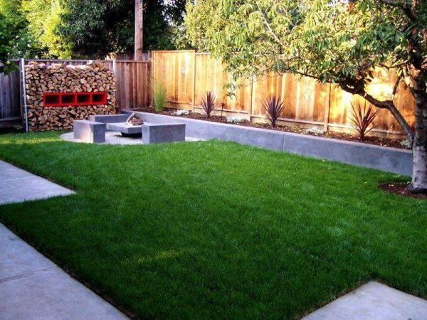 Clever backyard décor