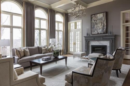 Medium Of Formal Living Room