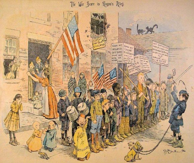Yellow Kid, 1895.