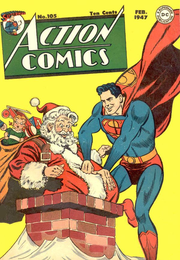 Superman-e-Papai-Noel