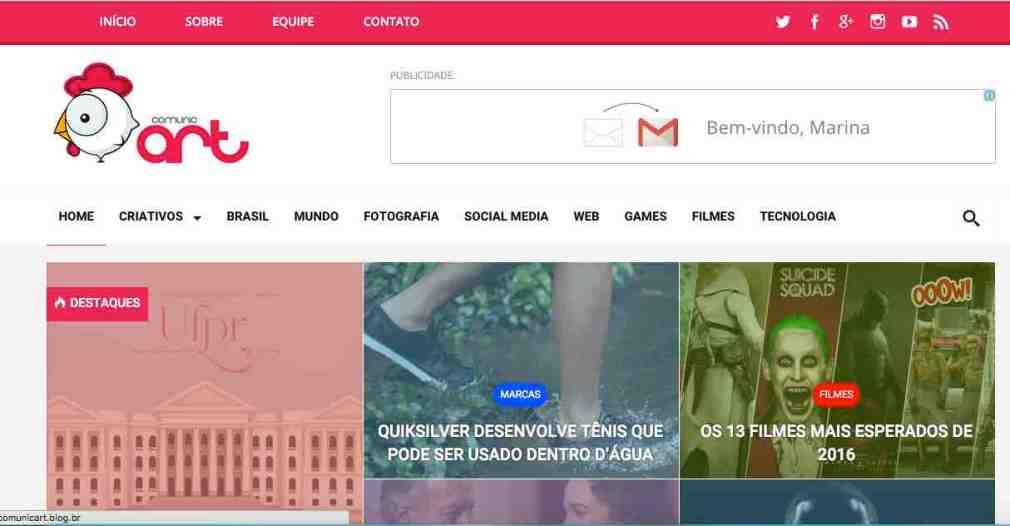 Home do blog ComunicArt