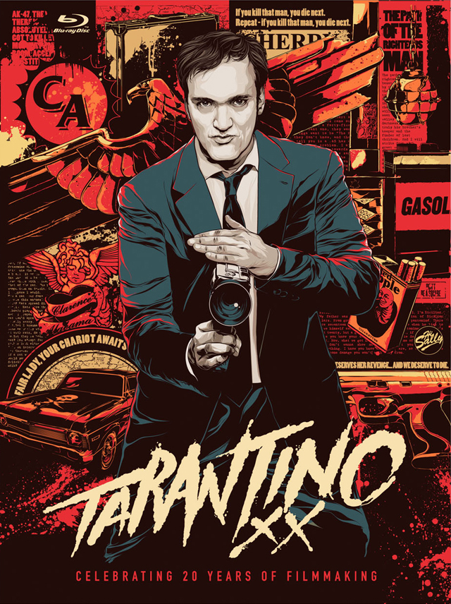 Pôster Tarantino XX de Ken Taylor