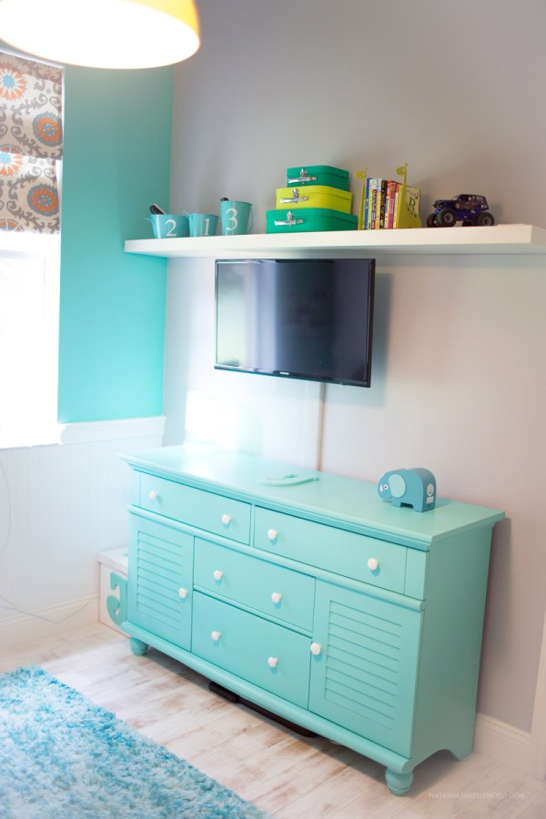 Wwwlittlesmorningscom Fabulous Teal Wall Painted As