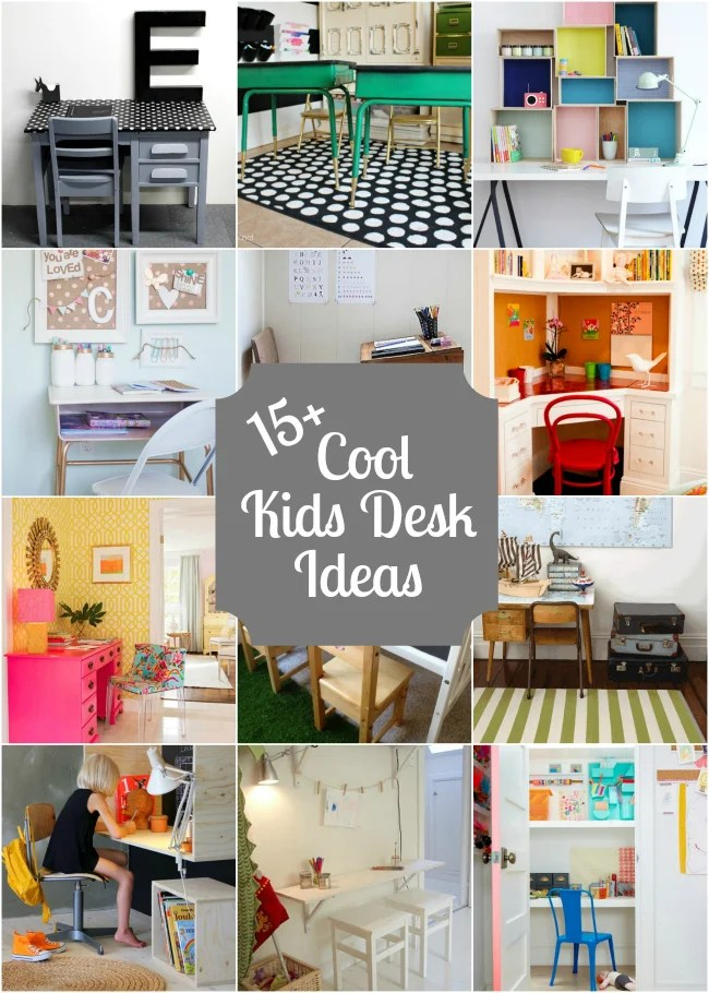 15 kids desks design dazzle