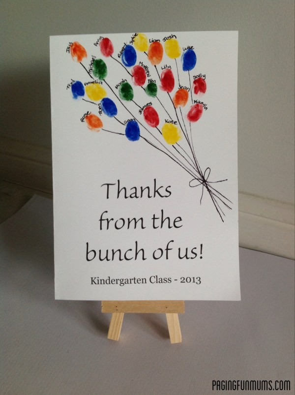 Creative teacher appreciation classroom crafts design dazzle for Thank you crafts for teachers