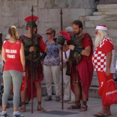 Romans in Split