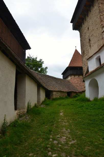Fortified church in Romania