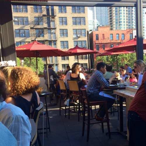 Tanta Terrace in Chicago