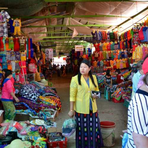 Markets in Myanmar