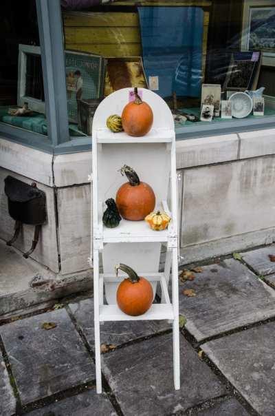 Quebec City Fall Decor