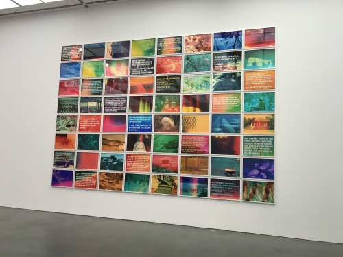 On view at the Museum of Contemporary Art