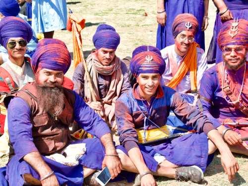 Nihang Warriors at the Hola Mahalla Festival