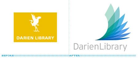 darien library logo