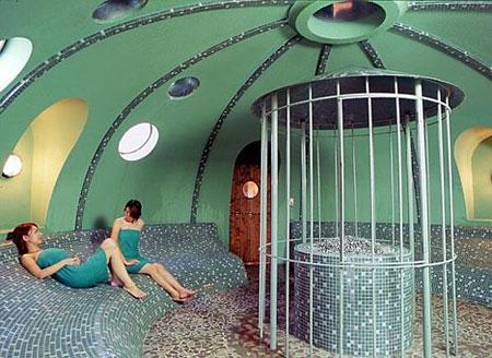 dome sauna