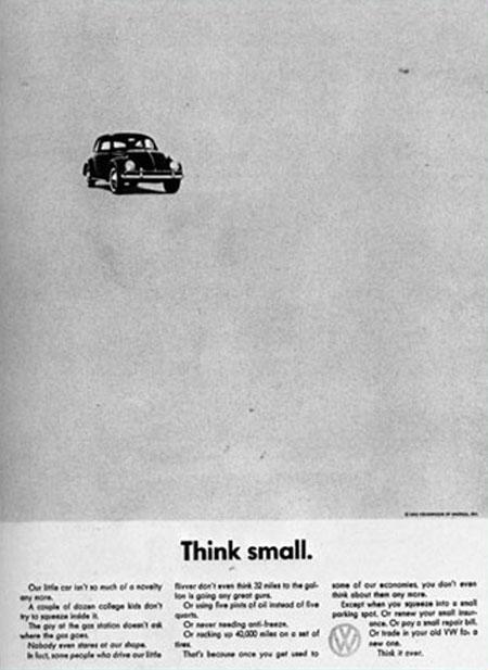 Volkswagen Advertisement 1960