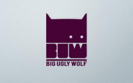 big ugly wolf logo