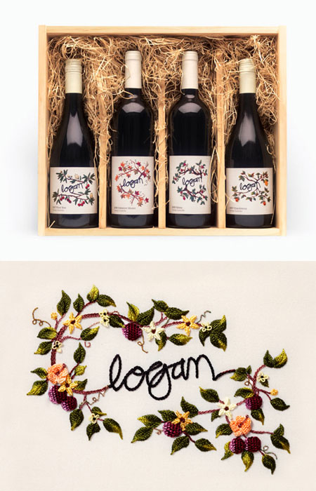 logan wine labels