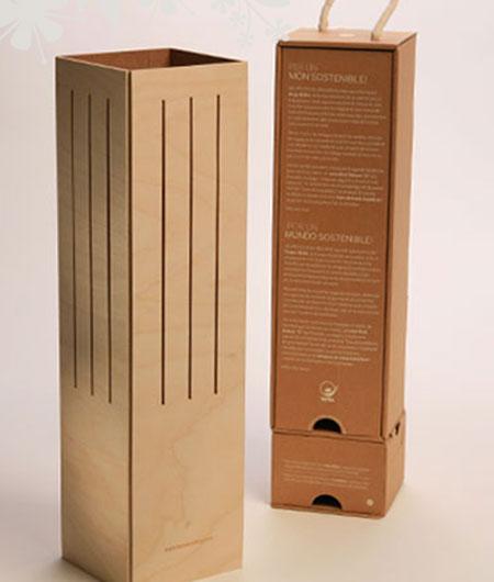 wine case lamp