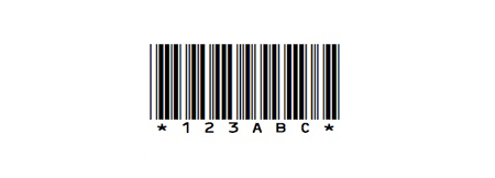 barcode font