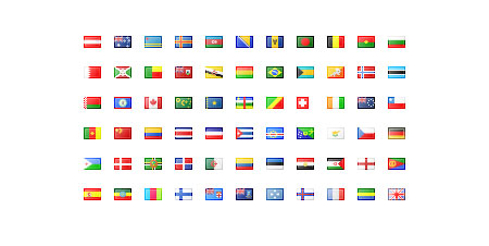 country flags icons