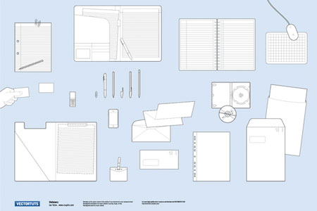 stationery vector pack