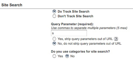 track search analytics