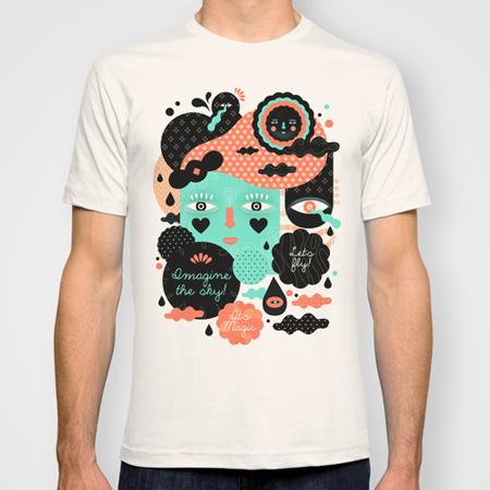 Imagine-the-sky-custom-t-shirt-design-by-Muxxi