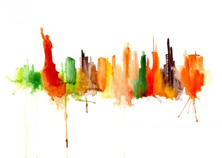 abstract-watercolor-paintings-famous-cities-elena-romanova-1-605x432