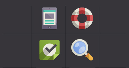 001-media-flat-icons-app-ui-google-bit-psd-vol4