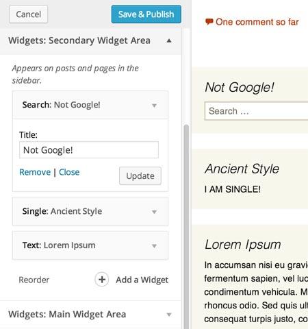 widget-customizer