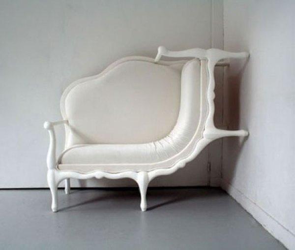 Wall-Climbing Sofa