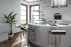 Calm Round Kitchen Design Round Kitchen Design Designer Kitchens Round Kitchen Island Designs
