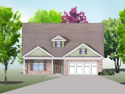 Bellwood elevation rendering
