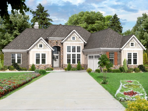 Leland-A elevation rendering
