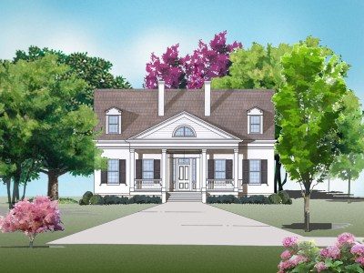 Twin Oaks rendering