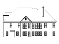 Collins rear elevation