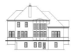 Cockerell rear elevation