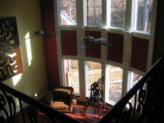 Merriweather two story grand room