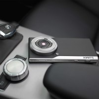 Panasonic Android smartphone with Leica lens