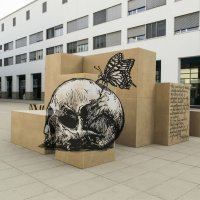 Anamorphic Illusions by Street Art Collective Truly Design in Lausanne