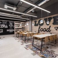 LIDL restaurant by mode:lina architekci