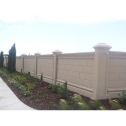 Small Crop Of Garden Wall Fence