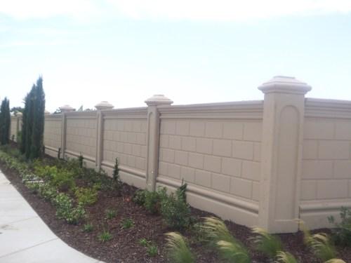 Medium Of Garden Wall Fence