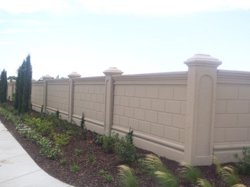 Large Of Garden Wall Fence