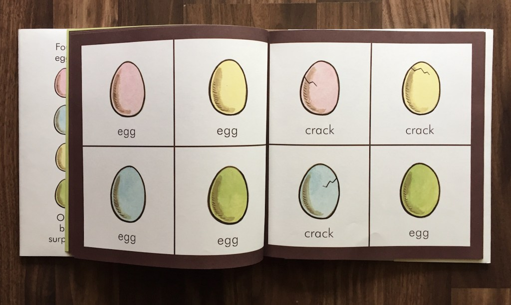 Egg + The Happy Egg – Design Of The Picture Book